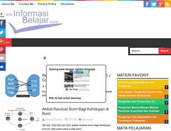informasibelajar.com screenshot