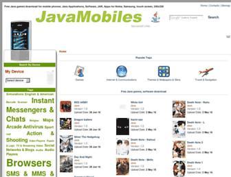 nokia-x2-01.java-mobiles.com screenshot