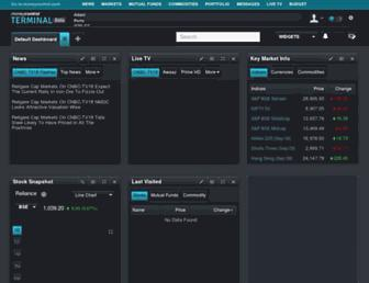 terminal.moneycontrol.com screenshot