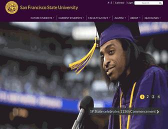 Thumbshot of Sfsu.edu