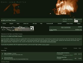 Fullscreen thumbnail of darklordpotter.net