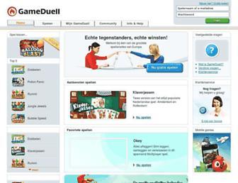Thumbshot of Gameduell.nl