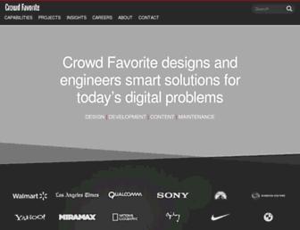 Thumbshot of Crowdfavorite.com