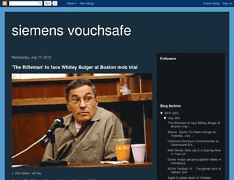siemens-vouchsafe.blogspot.com screenshot