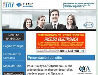 erpmanager.com.ar screenshot