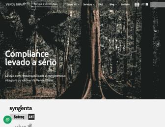 verdeghaia.com.br screenshot