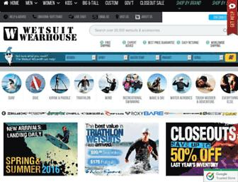 Thumbshot of Wetsuitwearhouse.com