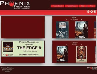 phoenixtheatres.com screenshot