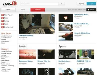 Screenshot for video.tt