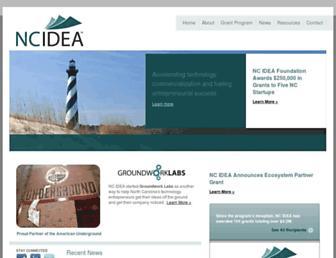 ncidea.org screenshot