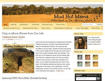 mudhutmama.com screenshot