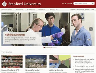 web.stanford.edu screenshot