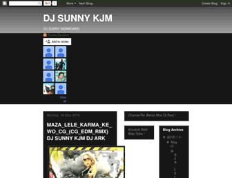 djsunnycg.blogspot.com screenshot