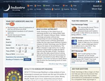 indastro.com screenshot