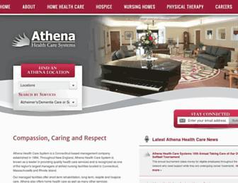 athenahealthcare.com screenshot