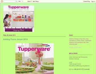 lyndtupperware.blogspot.com screenshot