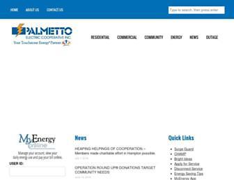 Thumbshot of Palmetto.coop