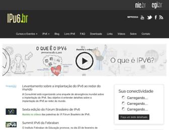 ipv6.br screenshot
