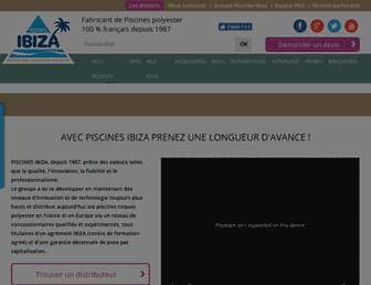 piscines-ibiza.com screenshot