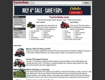 tractordata.com screenshot