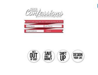 frugalconfessions.com screenshot