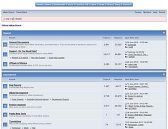 forum.emule-project.net screenshot