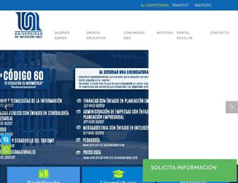 uneg.edu.mx screenshot