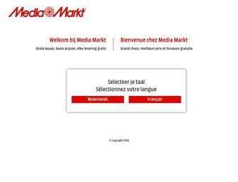 Thumbshot of Mediamarkt.be