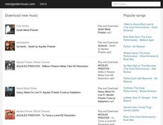 robotgardenmusic.com screenshot