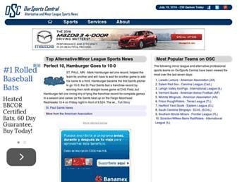 oursportscentral.com screenshot