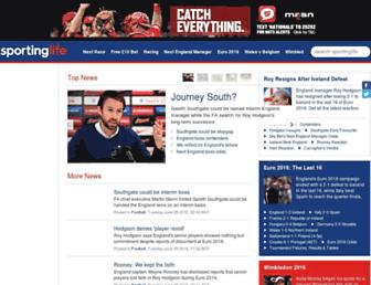Thumbshot of Sportinglife.com
