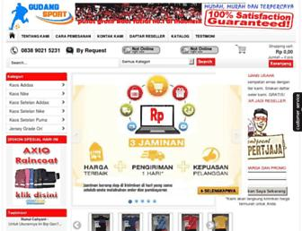 gudangsport.com screenshot