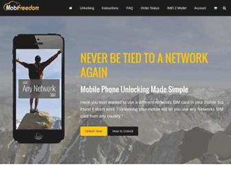 mobifreedom.net screenshot