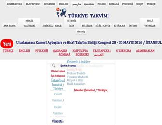 turktakvim.com screenshot