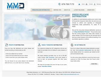 Thumbshot of Massmediadistribution.com