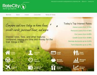 ratecity.com.au screenshot