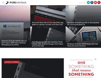 pureinfotech.com screenshot