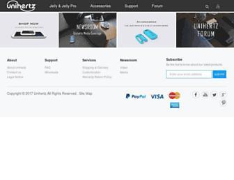 unihertz.com screenshot