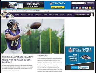 Thumbshot of Baltimoreravens.com