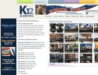 k12academics.com screenshot