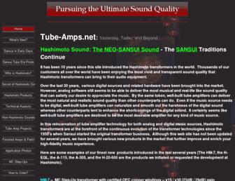 tube-amps.net screenshot