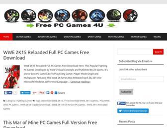 Thumbshot of Freepcgames4u.com