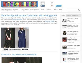 Fullscreen thumbnail of witze-blogger.de