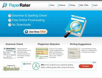 paperrater.com screenshot
