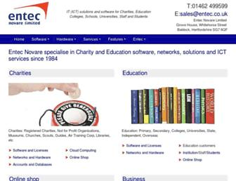 entec.co.uk screenshot