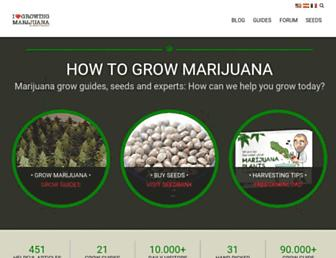 ilovegrowingmarijuana.com screenshot