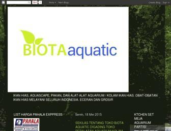 biotaaquatic.com screenshot