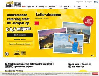 Thumbshot of Lotto.nl