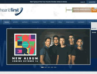 hearitfirst.com screenshot