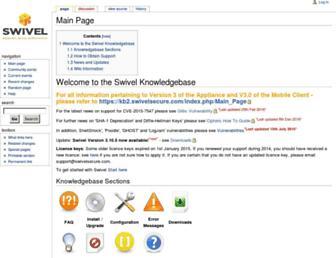 kb.swivelsecure.com screenshot